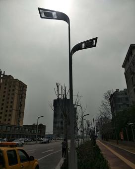 10米高低臂路灯